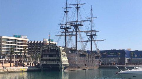 Se subasta galeón por 152.000 euros: el chollo envenenado del 'Escorial del mar'