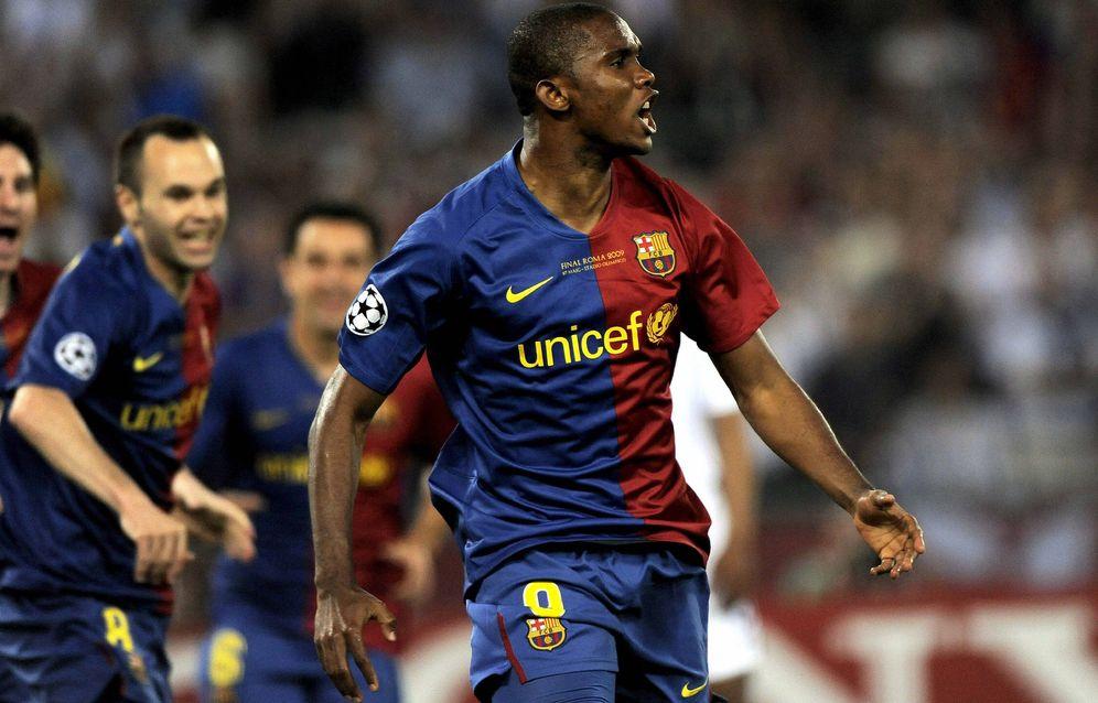 Foto: Samuel Eto'o, cuando jugabas en el FC Barcelona. (EFE)