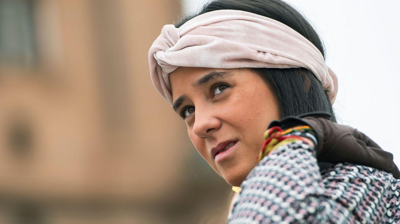 La sobrina del rey Felipe, en el concurso de enganches sevillano. (EFE)