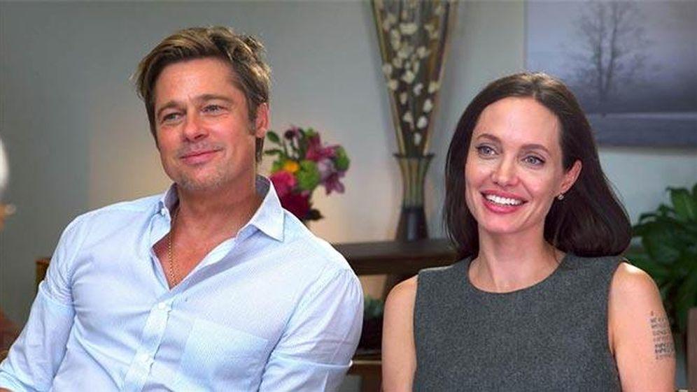 Foto: Brad Pitt y Angelina Jolie