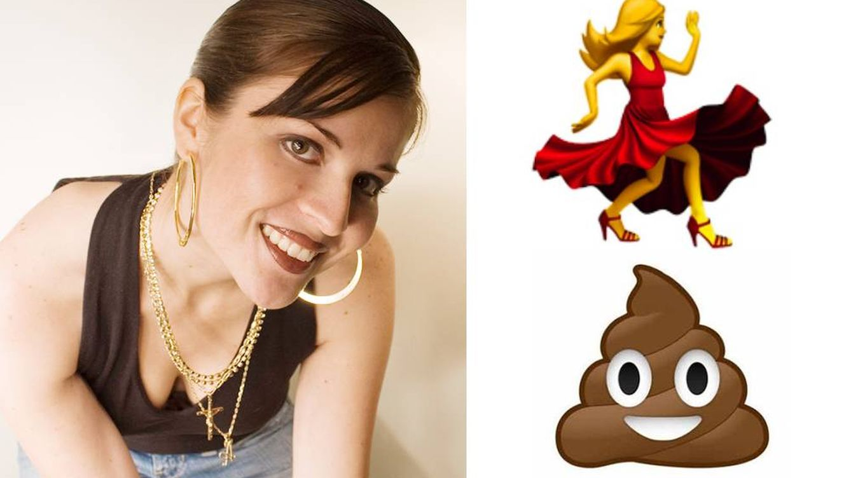 Esta diseñadora creó los 'emojis' del iPhone: No podía dejar de reír con la caca risueña