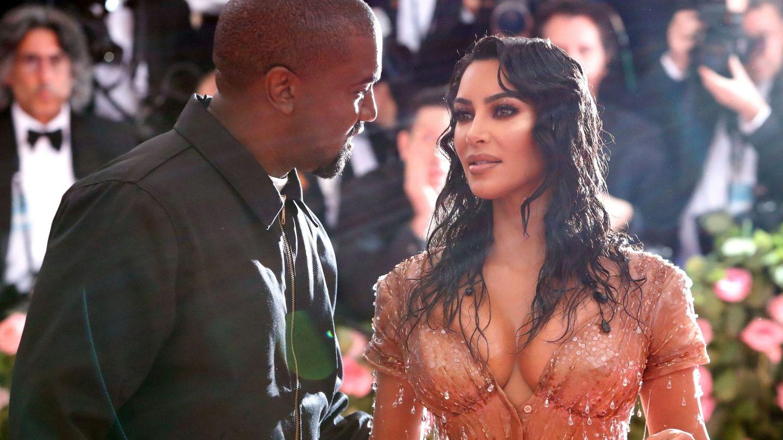 Kim Kardashian y Kanye West en una imagen de archivo. (Reuters)