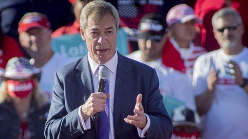 Adiós 'Brexit Party', hola Partido anti-confinamiento: Farage contraataca en UK