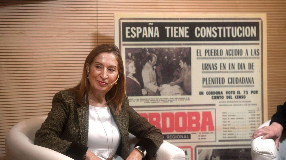 Foto: La presidenta del Congreso de los Diputados, Ana Pastor. (EFE)