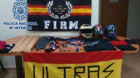 La Policía evita que unos ultras se enfrenten antes de un partido en Murcia