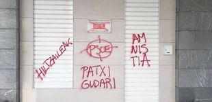 Post de Aparecen pintadas proetarras en la fachada de una sede del PSE en San Sebastián