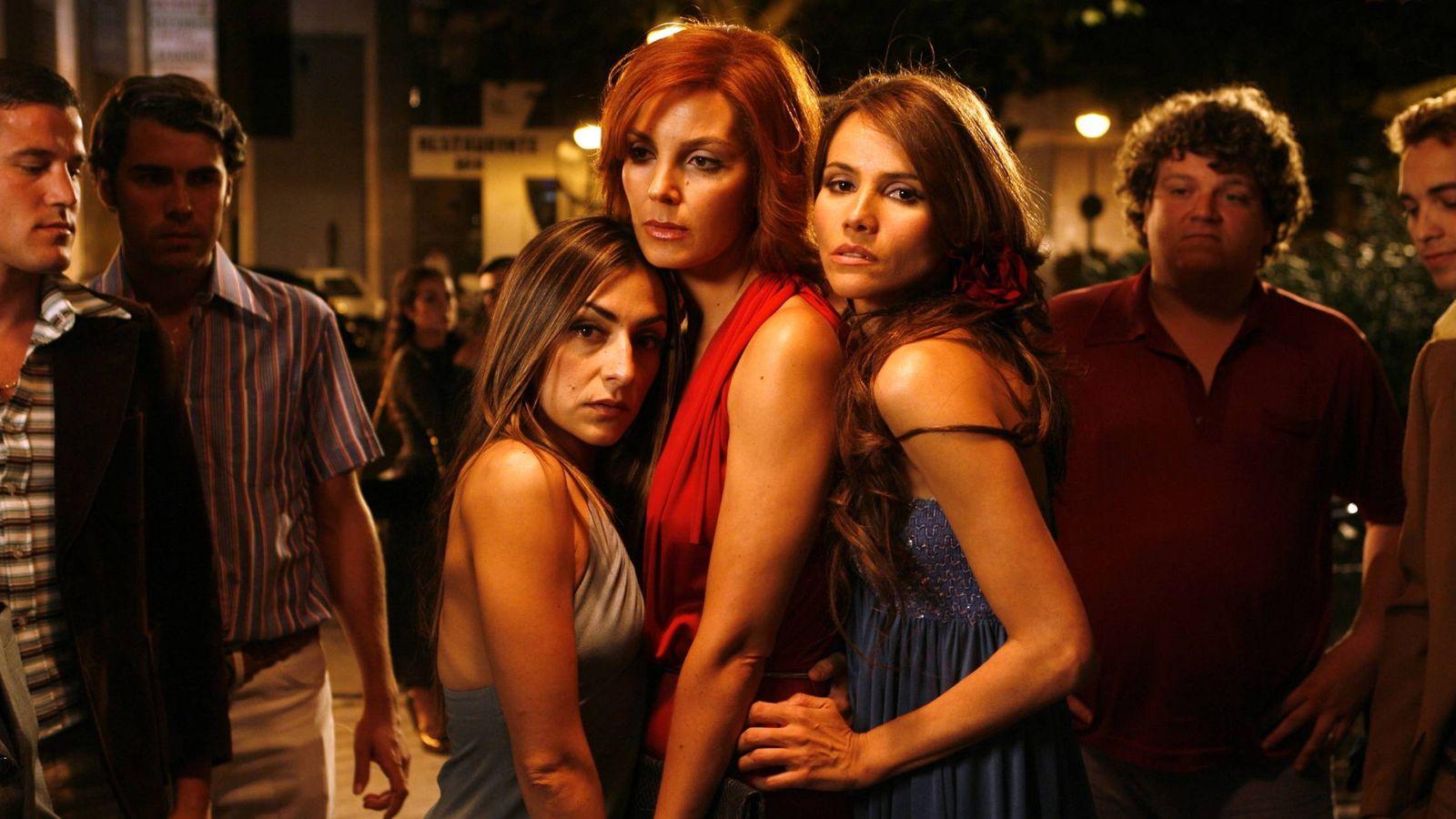 Foto: Candela Peña, Mar Flores y Goya Toledo protagonizaron 'Los años desnudos'.