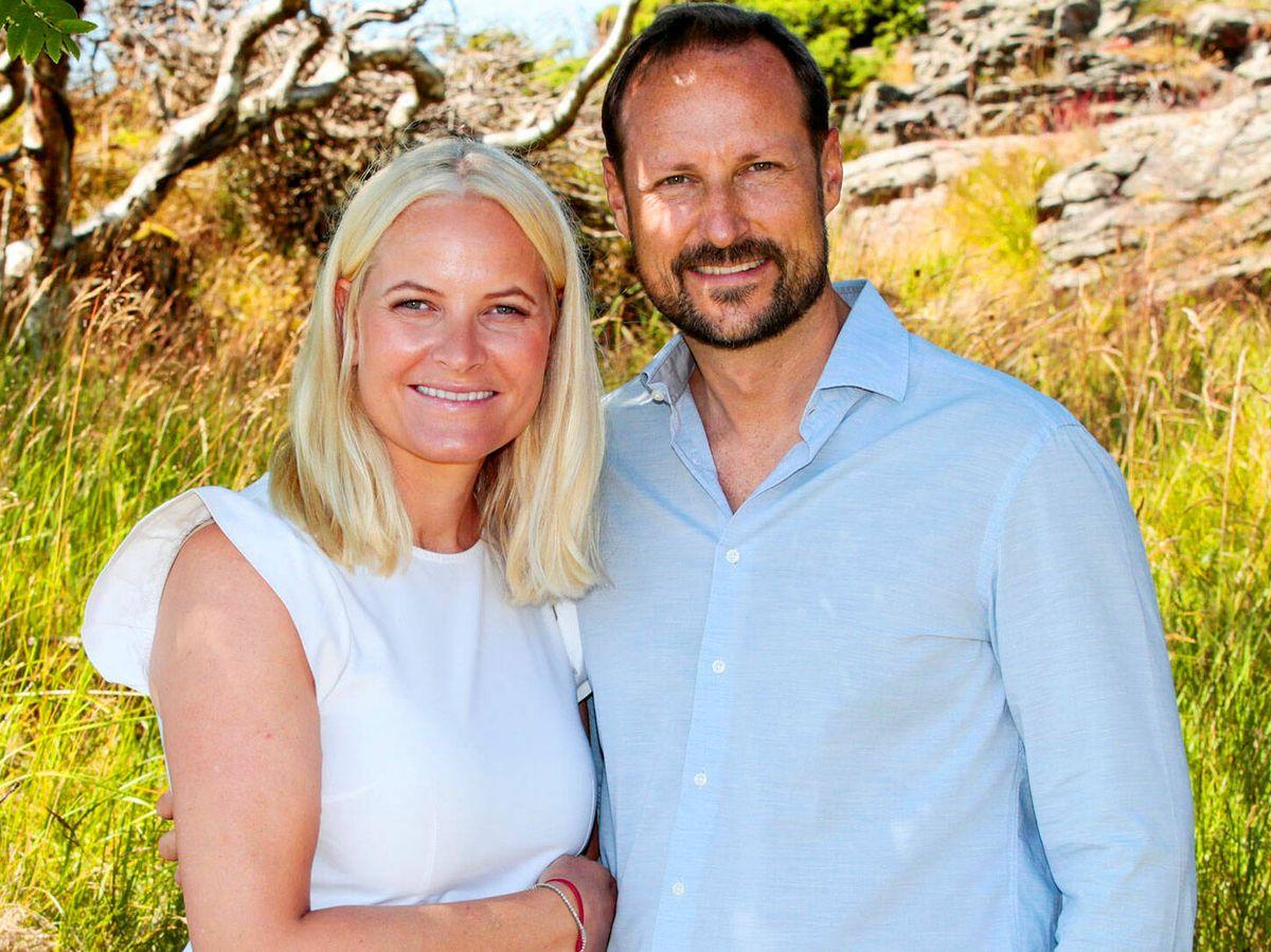 Foto: Los príncipes Haakon y Mette Marit de Noruega. (Reuters)