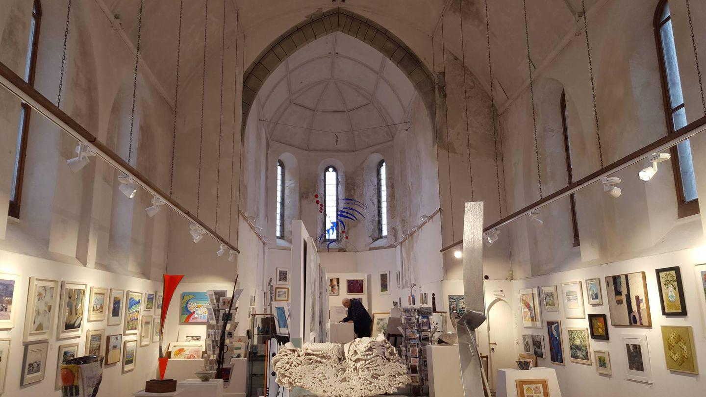 La St Ives Society of Artists, ubicada en una antigua iglesia. (Foto: Clemente Corona)