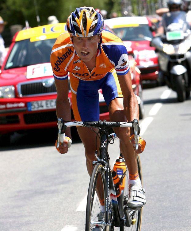 Foto: Boogerd en el Tour de Francia de 2007 (Efe).