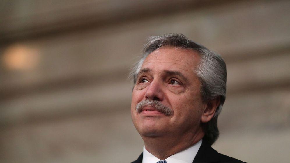 Foto: Presidende de Argentina, Alberto Fernandez