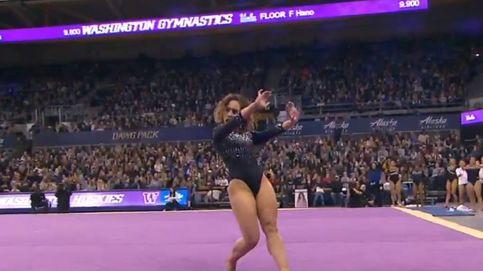 Gimnasia artística: Katelyn Ohashi vuelve a deslumbrar al mundo con un 10 y su baile