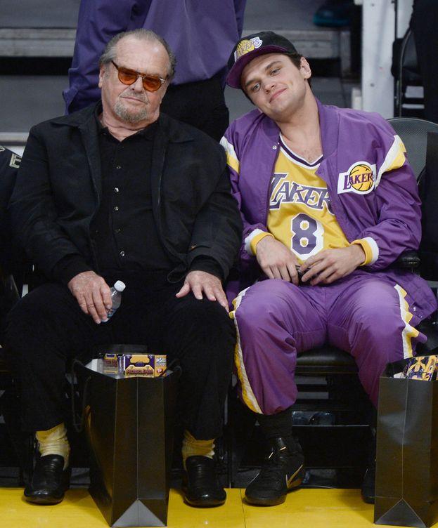 Foto: El actor y su hijo Raymond
