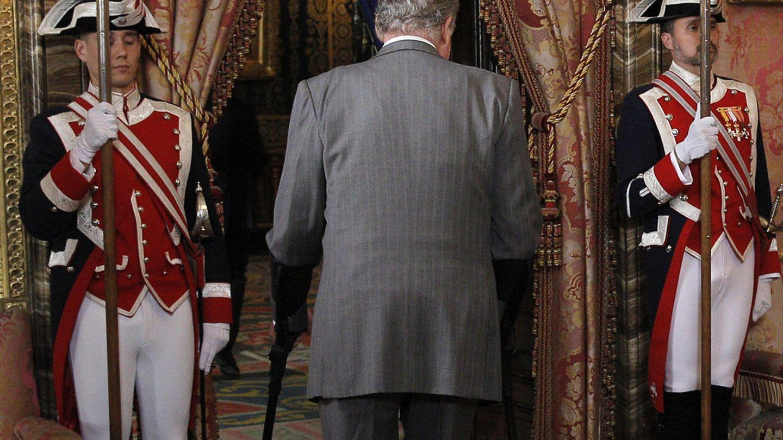 El Rey don Juan Carlos en Zarzuela (EFE)