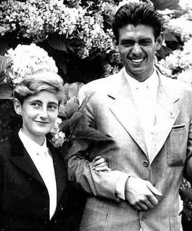 Foto: La 'duquesa roja' y su marido en una imagen de archivo