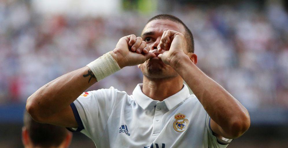 Foto: Pepe ha manifestado en más de una oportunidad su deseo de acabar su carrera en el Real Madrid (Reuters)