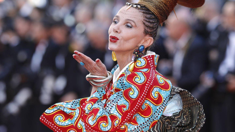 Victoria Abril, en el Festival de Cannes. (Getty)
