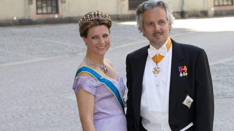 Foto: Ari Behn y Martha Luisa de Noruega en una imagen de archivo (Gtres)