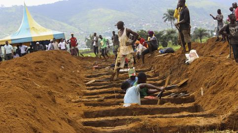 Tumbas para las víctimas de Sierra Leona