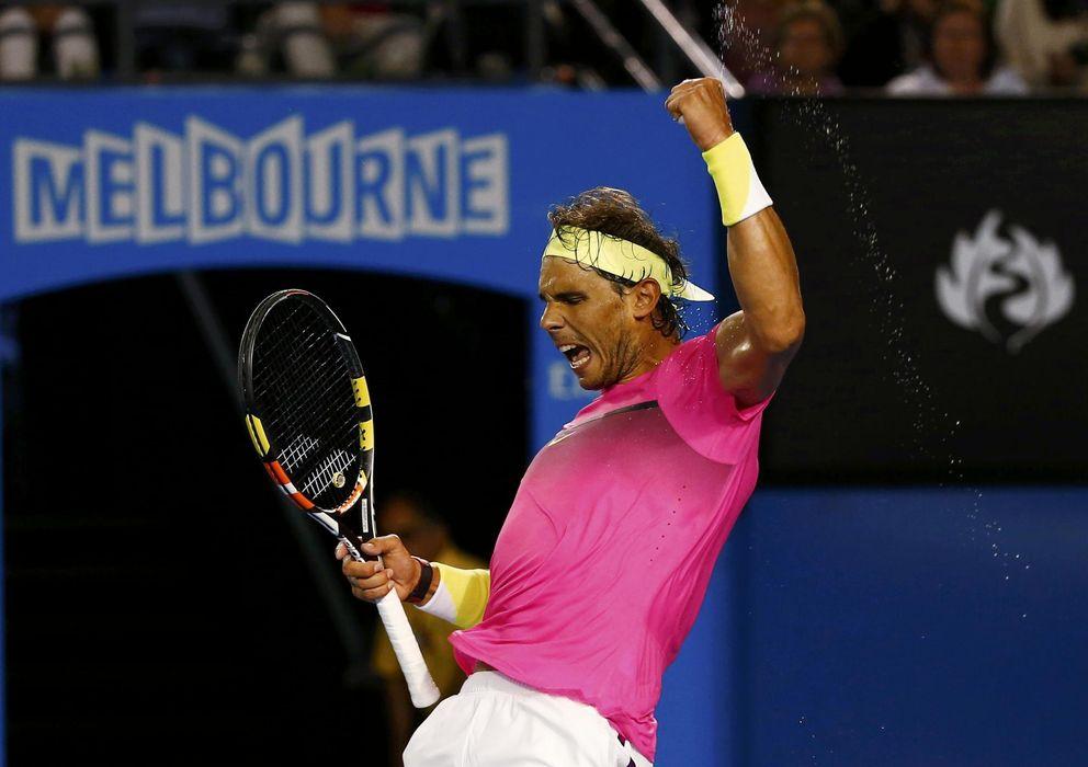 Foto: Rafa Nadal sacó su mejor versión ante Dudi Sela para meterse en los octavos de final del Open de Australia.