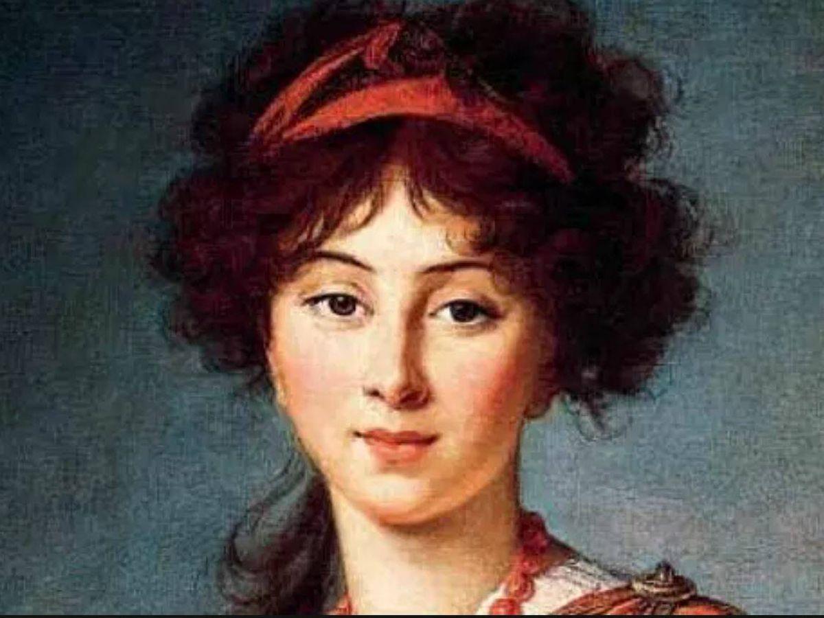 Foto: Un retrato de Madame Stäel.