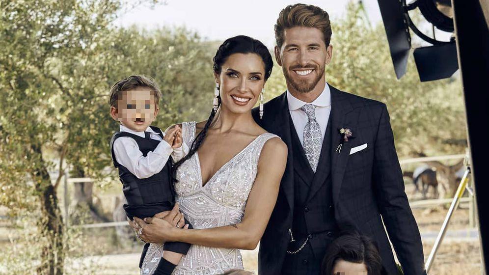 Foto:  Rubio y Ramos con su hijo. (IG)
