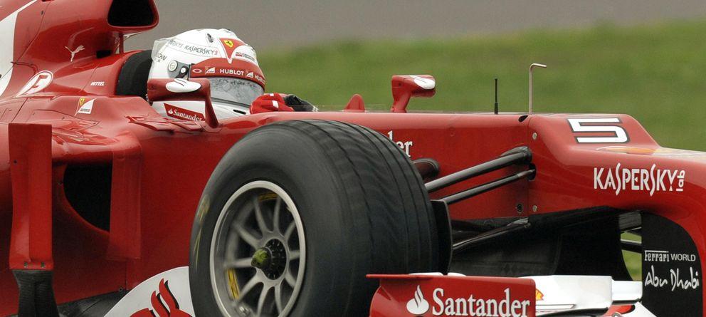 Foto: El estreno de Vettel con el Ferrari en Fiorano