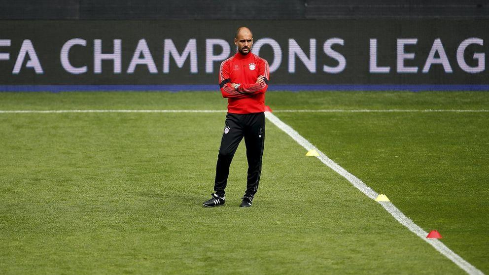 Guardiola sabe que el Bayern no puede permitirse una noche de aspersores