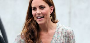 Post de Vestido veraniego y cuñas españolas: el look más relajado de Kate Middleton