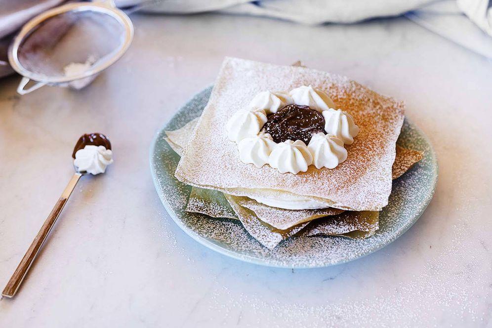 Foto: Un milhojas muy sencillo de preparar. (Foto: Snaps Fotografía)