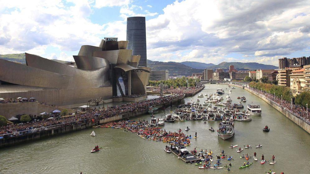 Foto: Vista panorámica de la ría de Bilbao. (EFE)