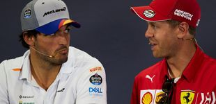 Post de La soga en torno al cuello de Sebastian Vettel que sirve de lección para Carlos Sainz