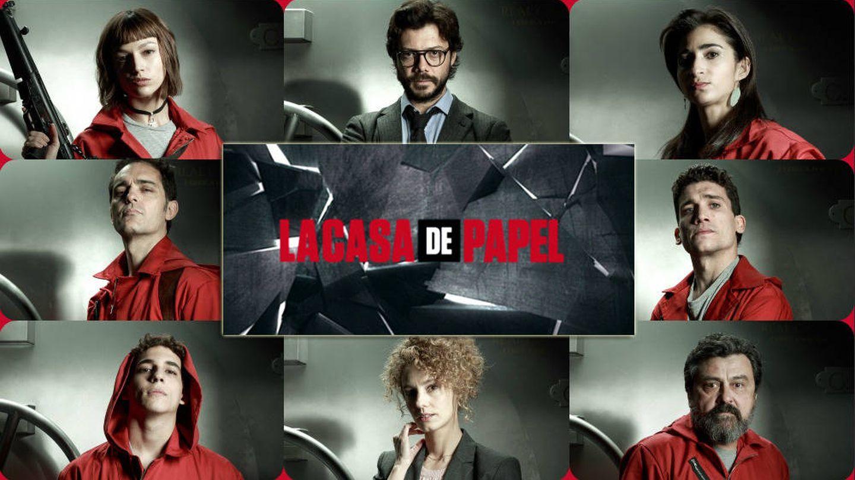 Los personajes principales de 'La casa de papel' de la temporada 1 y 2. (Atresmedia)