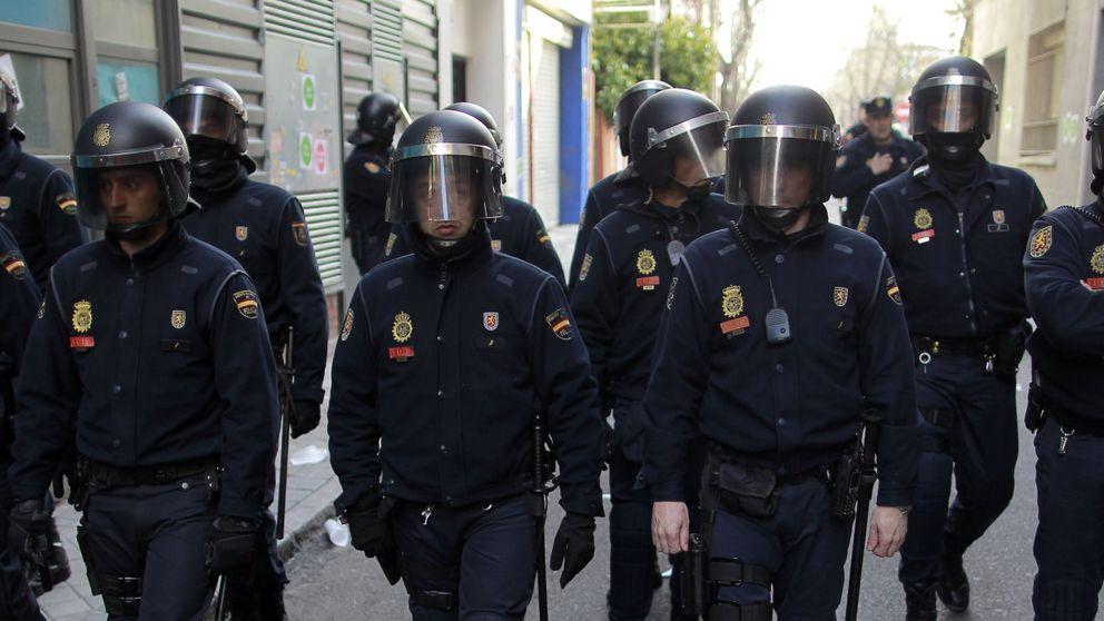 Interior refuerza la presencia de antidisturbios en Barcelona