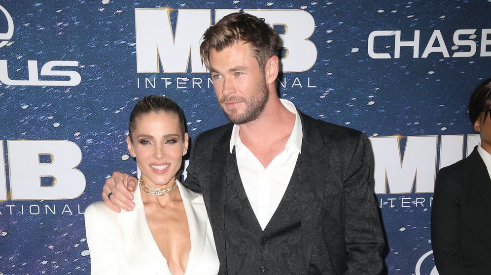 Foto: Elsa Pataky y Chris Hemsworth. (Cordon Press)