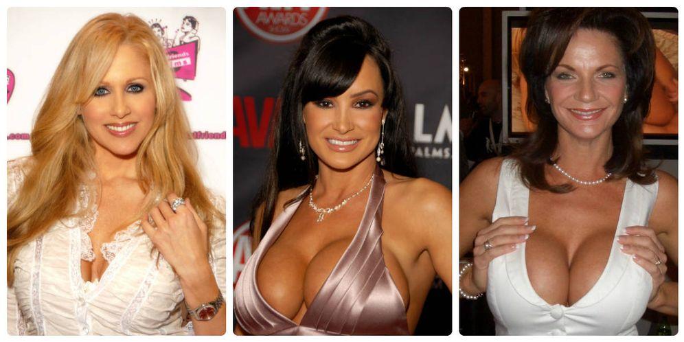 Foto: De izquierda a derecha Julia Ann, Lisa Ann y Deauxma, algunas de las grandes protagonistas del porno MILF. (Wikipedia)