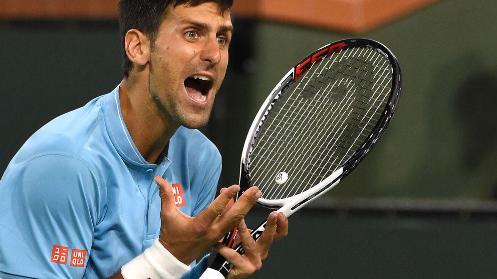Foto: Djokovic, en Indian Wells. (Reuters)