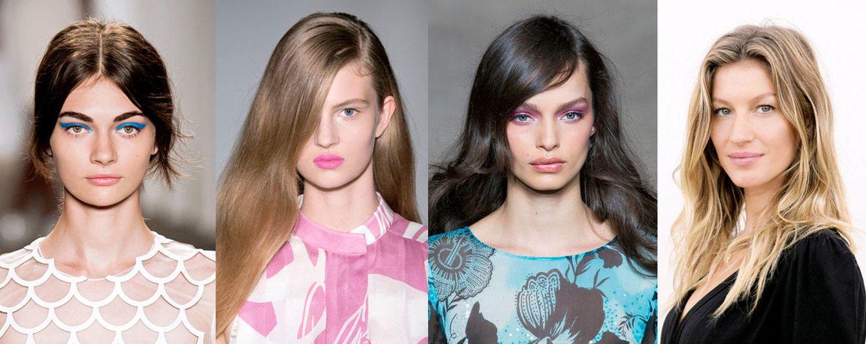 Foto: Eyeliner, labio magenta, colores pastel... Cinco tendencias de belleza que te vamos a enseñar a copiar