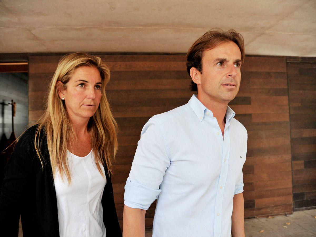 Foto: Sánchez Vicario y Josep Santacana, en una foto de archivo. (Getty)