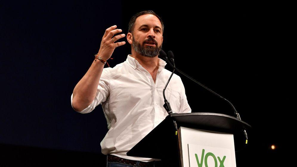 Foto: El presdiente de Vox, Santiago Abascal (Efe)