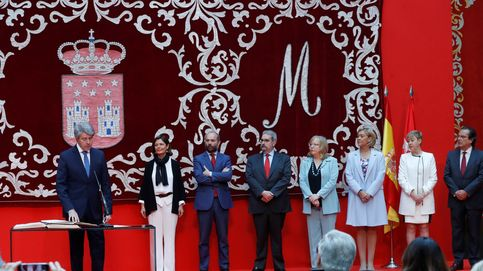 Ángel Garrido toma posesión como presidente de la Comunidad de Madrid
