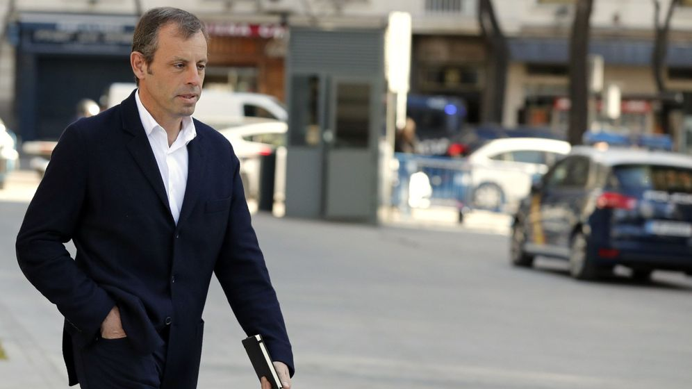 Foto: El expresidente del Fútbol Club Barcelona Sandro Rosell. (EFE)