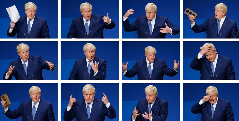 Foto: Montaje con fotos del alcalde de Londres, Boris Johnson (Reuters)