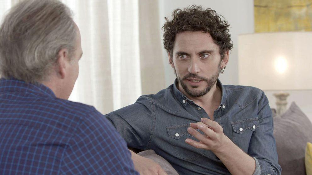Paco León le confiesa a Bertín Osborne que tuvo una relación con un hombre antes de conocer a Anna, la madre de su hija