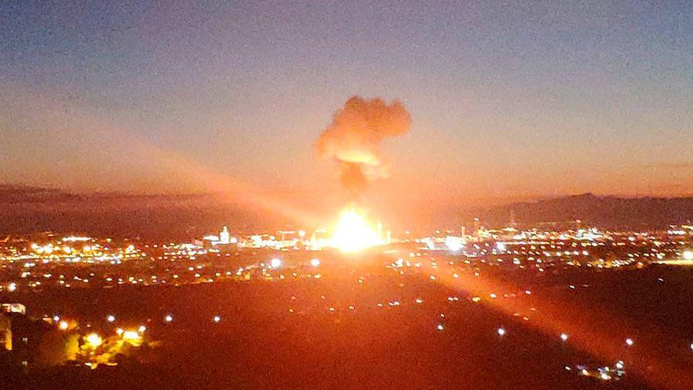 Así fue la explosión de la planta petroquímica de Tarragona, que deja dos muertos y ocho heridos