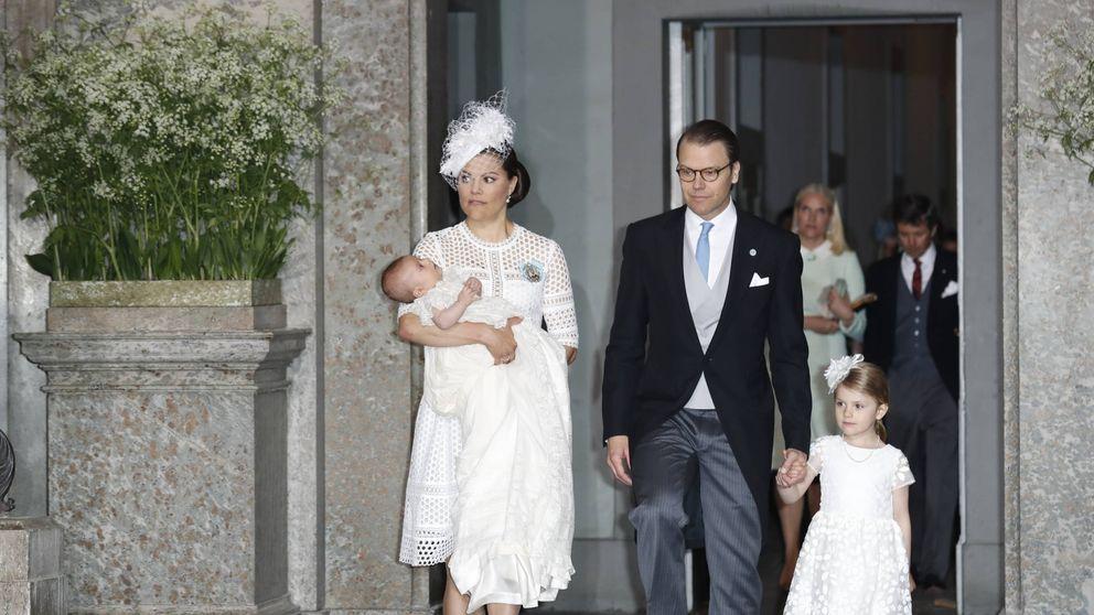 En imágenes: el bautizo del príncipe Oscar de Suecia, hijo de la princesa Victoria