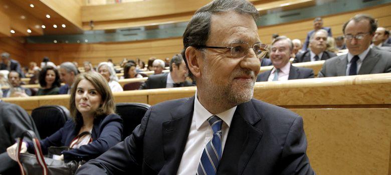 Foto: Mariano Rajoy durante el pleno del Congreso sobre el caso Bárcenas. (EFE)