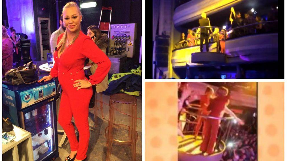 Belén Esteban, Ylenia, Paz y Terelu, 'on fire' en Kapital en el cumple más VIP