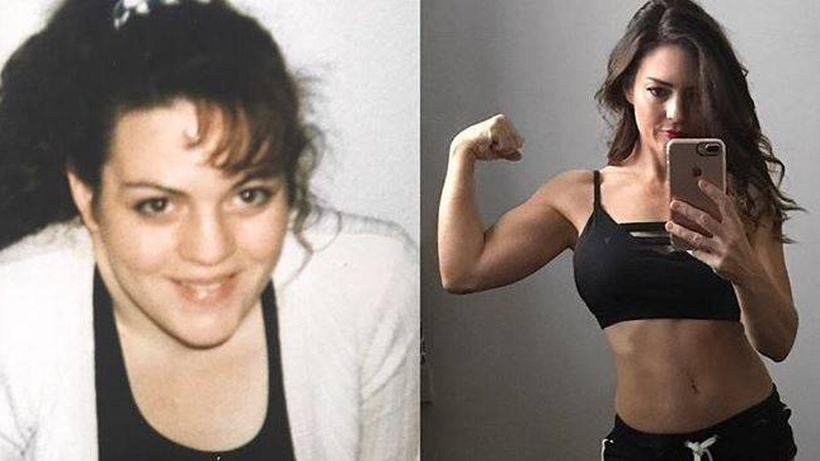 Foto: Antes y ahora. (Instagram)