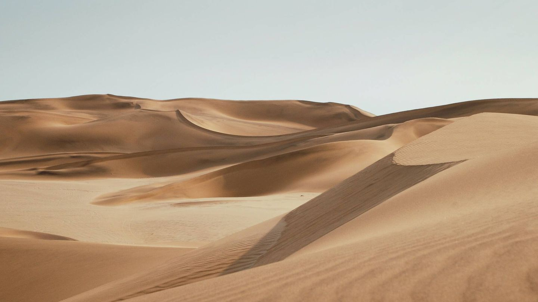 La crisis climática facilita la disolución en los océanos del polvo del desierto. Unsplash